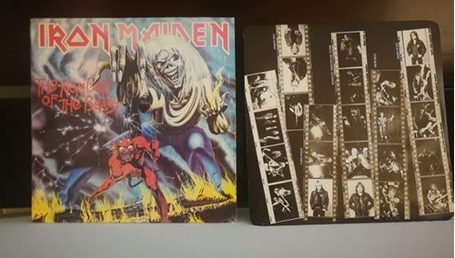 iron maiden the number of the beast vintage uk