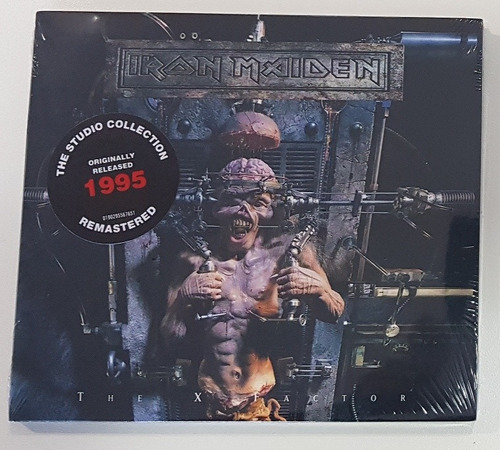 iron maiden - the x factor digipack 2019
