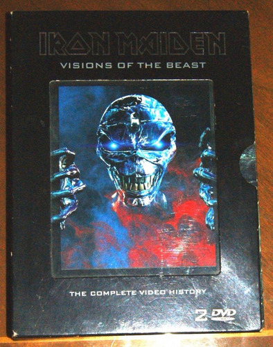 iron maiden visions of the beast dvd doble original