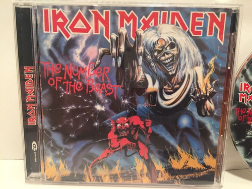 iron maiden:the number of the beast cd sanctuary usa (1998)