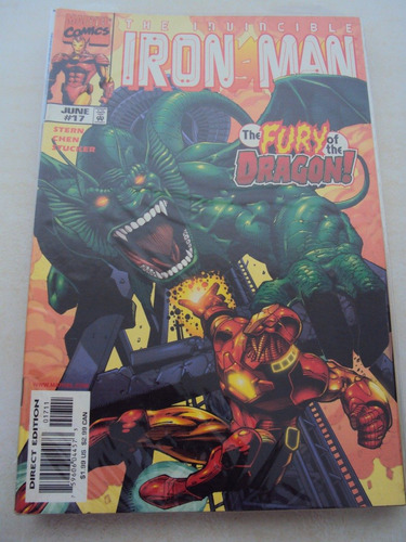 iron man # 17 - the invencible - marvel comics - importada