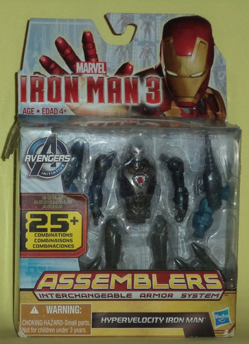 iron man 3 assemblers, hypervelocity