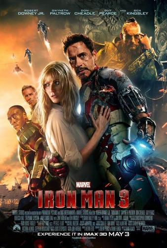 iron man 3 pelicula dvd nueva original sellada garantia