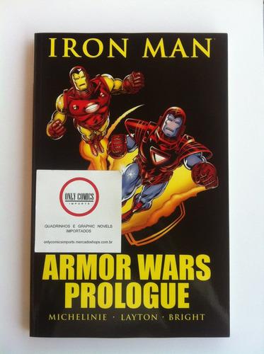 iron man armor wars prologue tpb (2010) marvel