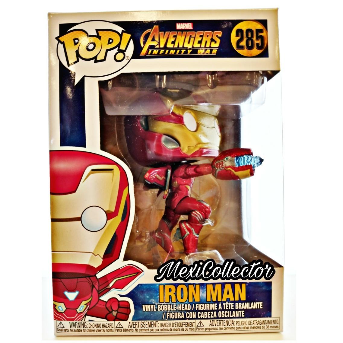 iron man avengers infinity war funko pop 285 - $ 349.00 en mercado libre
