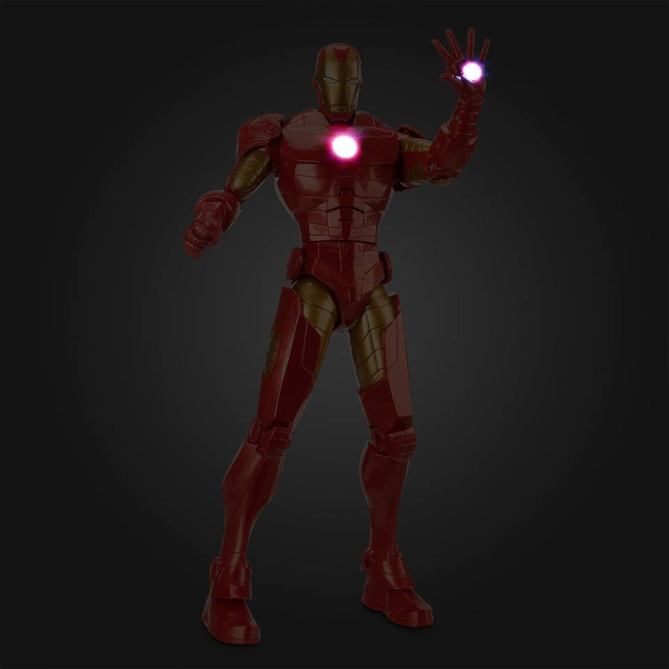 Iron Man Disney Store Avengers Marvel 34 Cm Luces 15 Frases