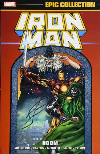 iron man doom epic tpb - marvel comics robot negro