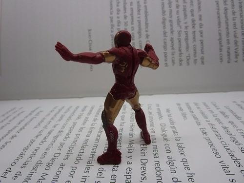 iron man figura accion coleccion marvel 6cm original