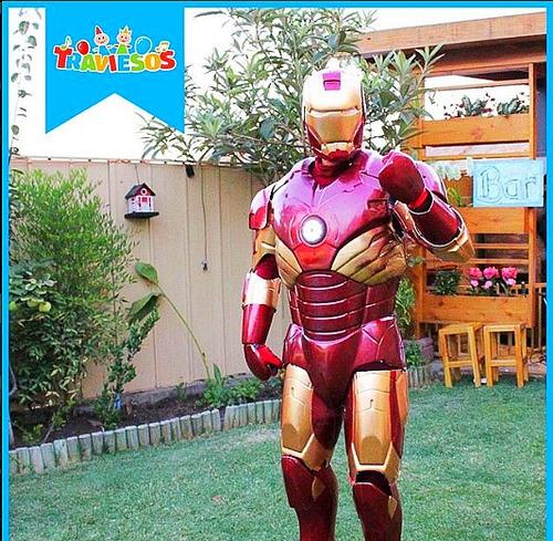 iron man + globoflexia y tatuajes