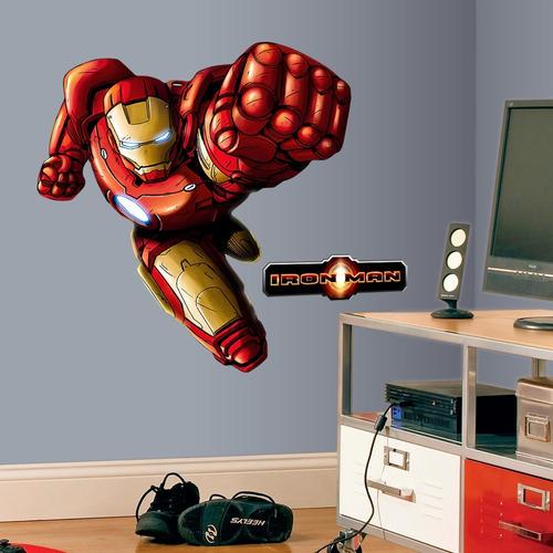 iron man - hulkbuster avengers - sticker adhesivo gigante