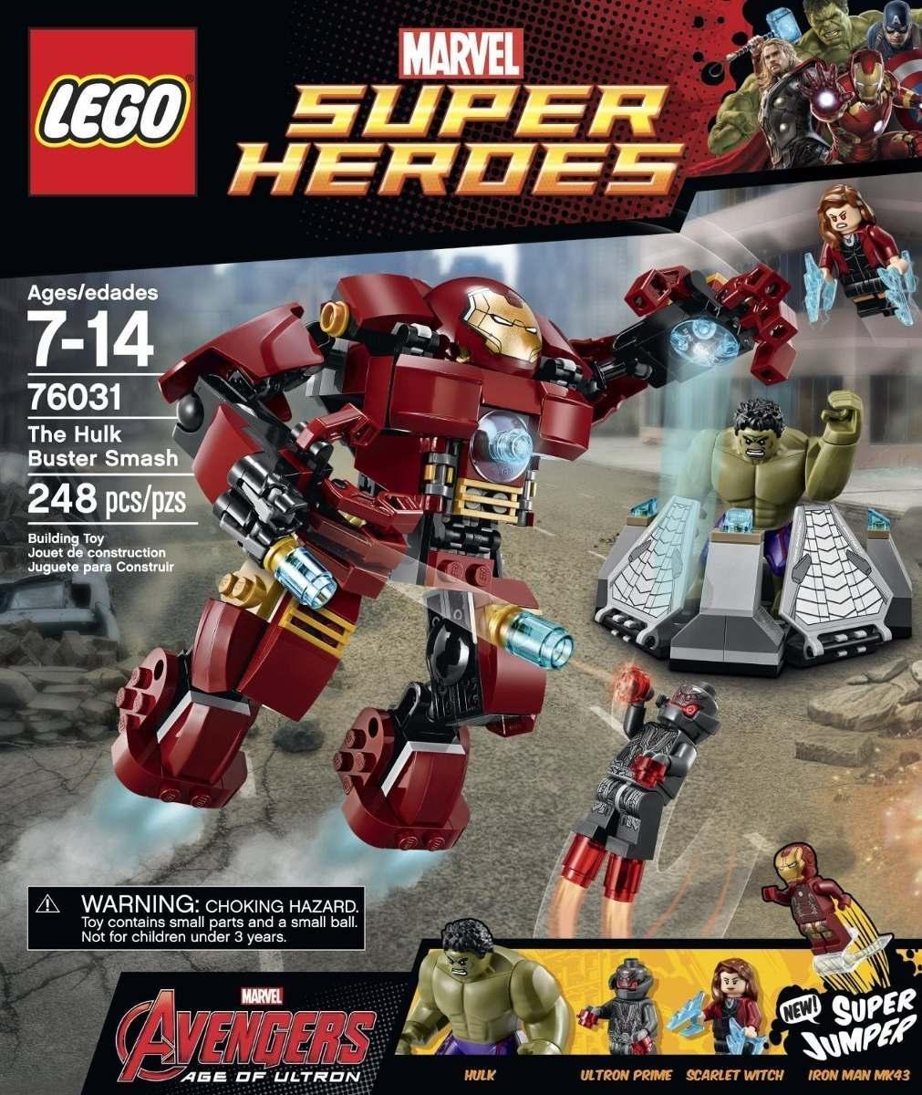 Iron Man Hulkbuster Lego Marvel