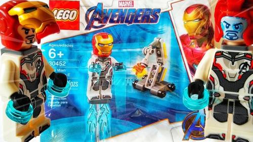iron man lego avengers y dum e 38 piezas bolsita 30452 cadia