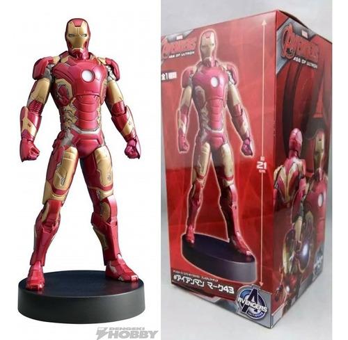 iron man mark 42 mark 43 mark 44 mark 45 estatua 21 cm