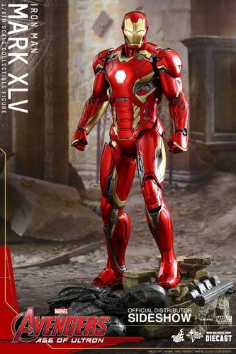 iron man mark 45 avengers ultron sideshow hot toys marvel