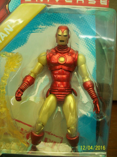 iron man no.21 marvel universe serie 1