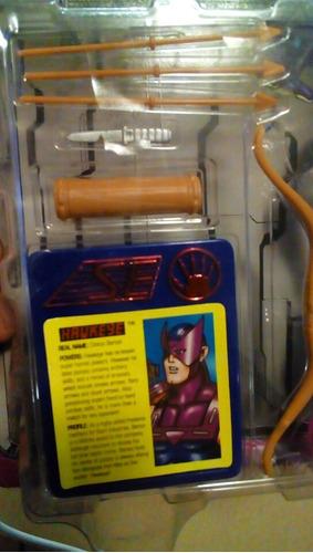 iron man ojo de halcon hawkeye toy biz de 1995 c/envionuevo