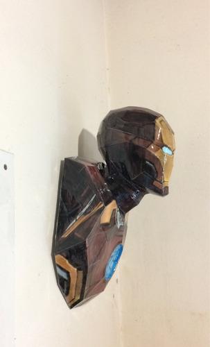 iron man para colgar en pared