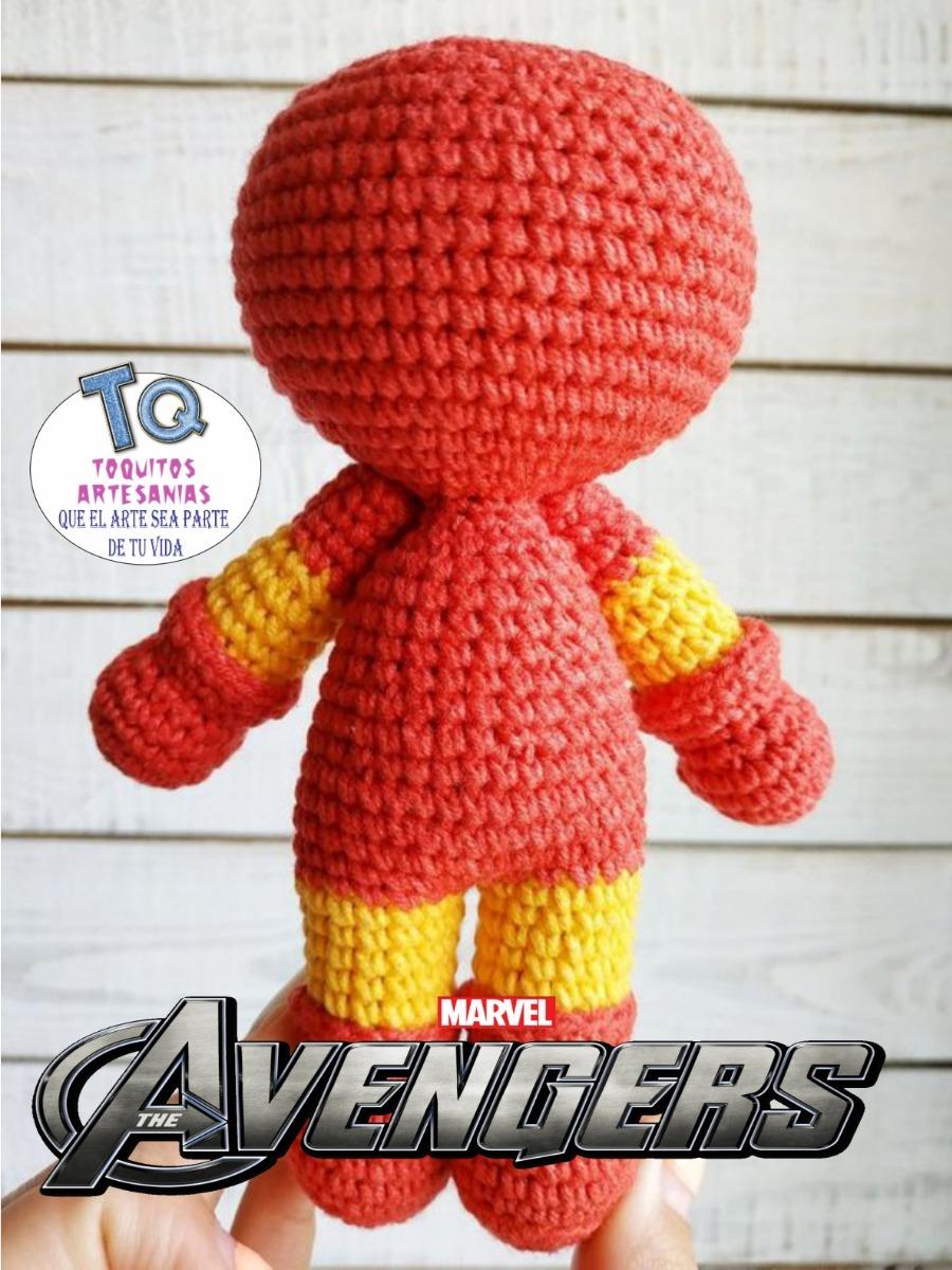 Tutorial Paso a Paso para realizar a Iron Man como Amigurumi - YouTube | 1200x900
