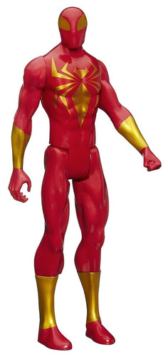 iron spider armor marvel spiderman muñeco 30 cm alto hasbro