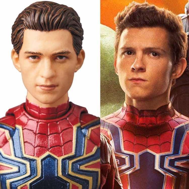 Iron Spider Man Mafex Infinity War No Legends En Stock