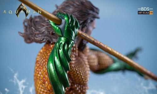 iron studios aquaman battle diorama series