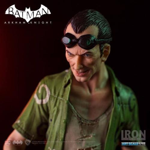 iron studios art scale 1/10 batman arkham knight the riddler