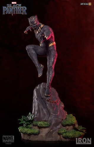 iron studios - art scale 1/10 - black panther - killmonger