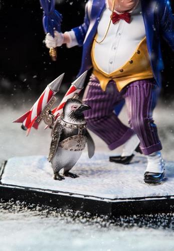 iron studios dc comics the penguin 1/10 art scale