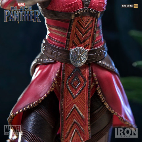 iron studios - nakia - black panther - art scale 1/10