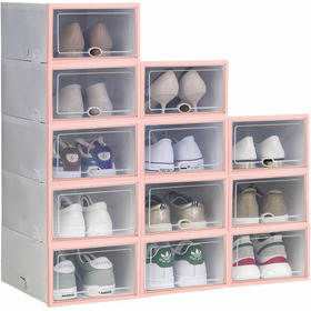 Ironland - Caja De Almacenamiento Para Zapatos (12 Unidades,