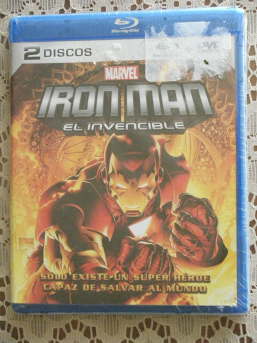 ironman - el invencible - bluray