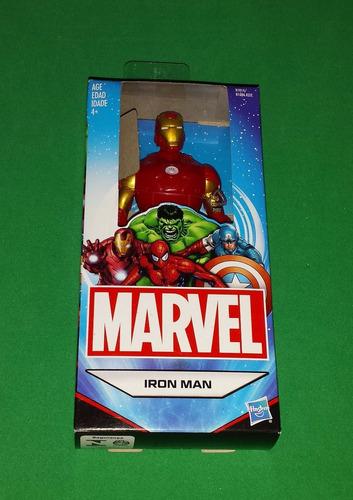 ironman homem de ferro miniatura figure avengers hasbro