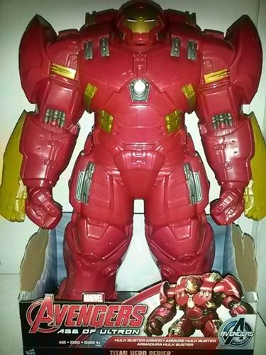 ironman hulkbuster de 46cm de alto .nuevo