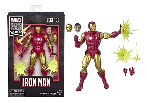 ironman marvel legends 80th years tony stark 2019