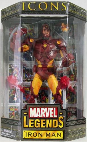 ironman marvel legends icons