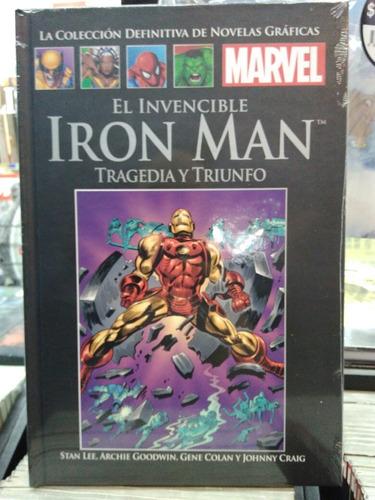 ironman trajedia y triunfo #71 marvel negra