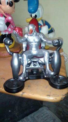 ironman warmachine 50 cm coleccionable  luz hot toys