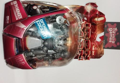 ironmonger con cuerpo accesible hasbro iron man marvel