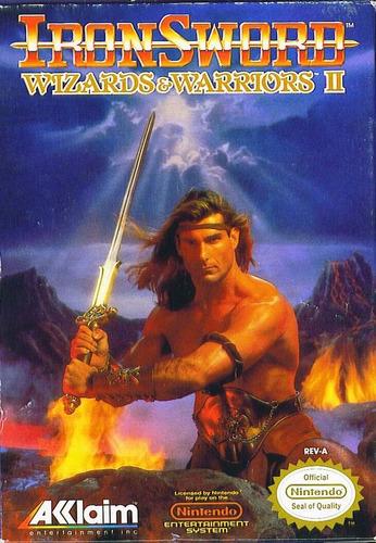 ironsword wizards & warriors ii (completo) - nes