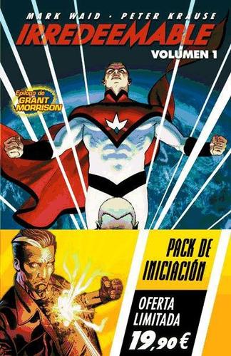 irredeemable 01 ; incorruptible 01: pack iniciación(libro )