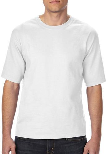 irregular gildan t - camisas estilo # 2000t blanco - tamaño