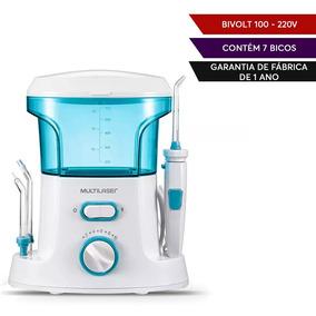 976681280 Irrigador Oral Multilaser Limpeza Dente Aparelho Com 7 Bico