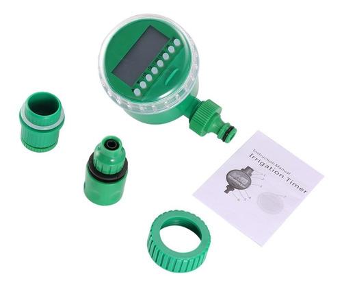 irrigador temporizador automático timer hortas jardins