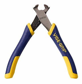 irwin tools alicates vise-grip, corte de las puntas con la