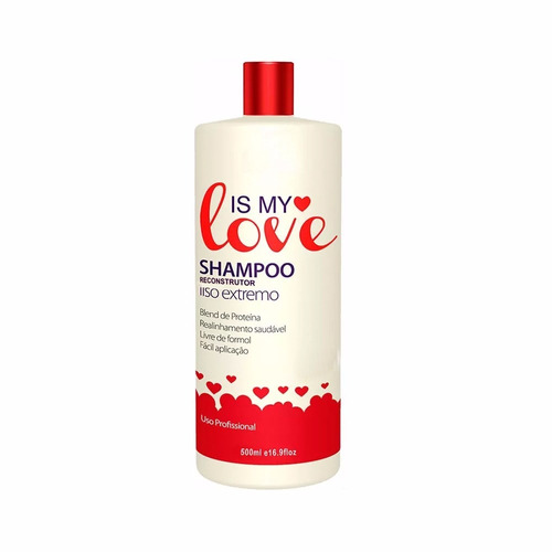 is my love shampoo alisante 500 ml - vendedor autorizado