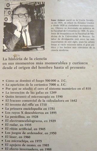 isaac asimov, cronología de los descubrimientos, ed. ariel