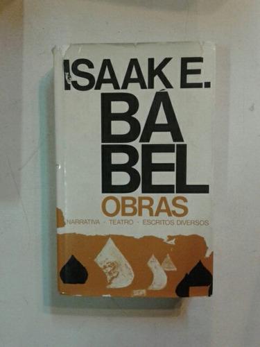 isaak babel obras narrativas teatro escritos diversos
