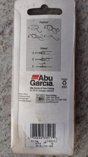 isca colher abu garcia 25 gramas 7,5cm