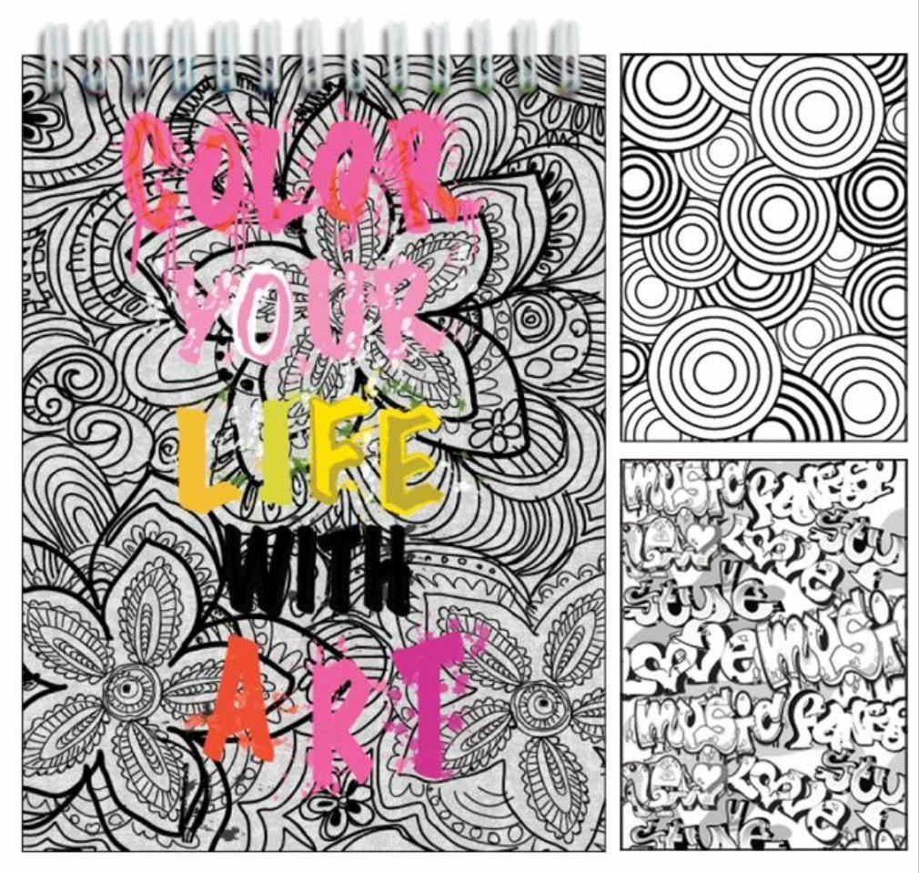Iscream Colorea Tu Vida Con El Arte 96 Páginas 85 Libro ...