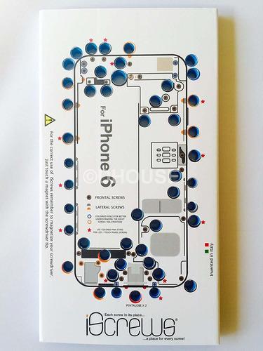 iscrews organizador / tornillos soporte para apple iphone 6